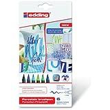 Edding 4200 - Pack de 6 rotuladores, multicolor