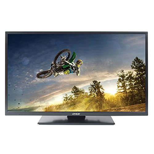 Linsar 32LED800 32-Inch LED HD Ready 720p Smart TV/DVD Kit with Built-In Wi-Fi and Freeview HD/Play - Black