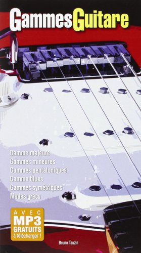 Gammes Guitare 1 Livre petit format