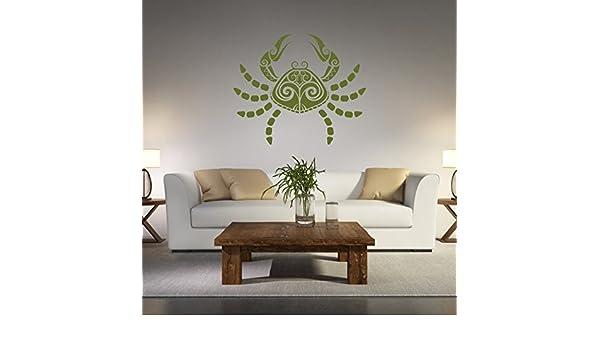 Malango® adesivo segno zodiacale cancro decorazione da parete