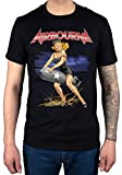 Official Airbourne Missile Rider T-Shirt Black Dog Hard Rock