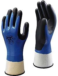 Dickies Mens Nitrile Foam Work Wear Grip Glove Black M,L,XL