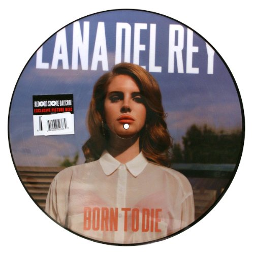Lana Del Rey: Born To Die Picture Disc LP (Record Store Day) (Store Vinyl Day Record)