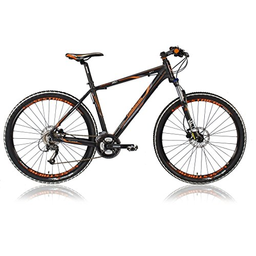 "VTT SESTRIERE 350 27.5"" noir/orange 2017 - 21"""