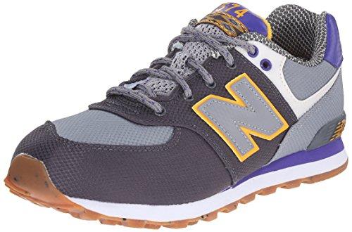 New Balance 574 (KL574NWG) Multicolore (Grey/Black/Blue/Yellow)