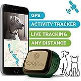 Kippy Vita - Localizador GPS para Perros y Gatos con Monitor de Actividad - Camo Sentinel
