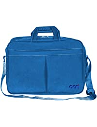 """Acm Executive Office Padded Laptop Bag For Dell Inspiron 15 3521 15.6"""" Laptop Light Blue"""