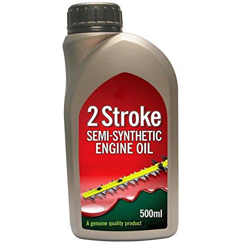 spares2go 2Stroke Teilsynthetisches Motor, für Außenborder Motor/Benzin Generator 500ml (1Stück)