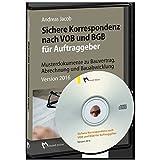 Software - Sichere Korrespondenz nach VOB und BGB für Auftraggeber: Musterdokumente zu Bauvertrag, Abrechnung und Bauabwicklung Version 2016