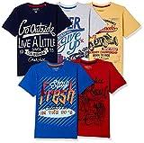 #9: Cherokee Boys' T-Shirt (Pack of 5)