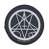MORBID ANGEL - Pentagram Symbol - Aufnäher/Patch - Gewebt/Woven - ca. 9,0 cm Durchmesser