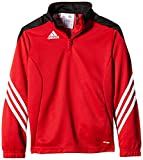 adidas Kinder Sweatshirt Sereno 14 Trainingstop, University Red/Black/White, 152