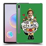 Head Case Designs Ufficiale Elf Movie Amico Gruppi di Mangiare Grafiche 2 Cover Dura per Parte Posteriore Compatibile con Samsung Galaxy Tab S6 (2019)