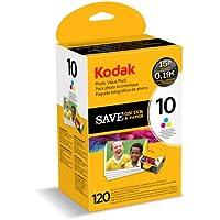 Kodak Inkjet / Print Cartridge Photo Value Pack - Series 10 - Colour Ink & Paper