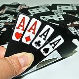 Plastique Cartes de poker Large Personnages d'échecs Cartes