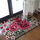Generic Red, 600mm x 900mm : wedding celebration, Rose valentine' s romantic carpet, Advanced, high quality carpet, family expenses, domestic, grogshop, hotel