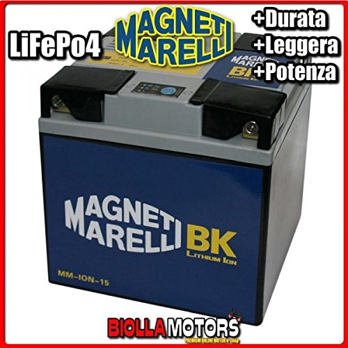 MM-ION-15 BATTERIA LITIO MAGNETI MARELLI 53030 LiFePo4 53030 MOTO SCOOTER QUAD CROSS