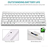 Free USB Light (5) With KARTsHiTech Mini Wireless Keyboard & Mouse Combo Entertainment Keyboard