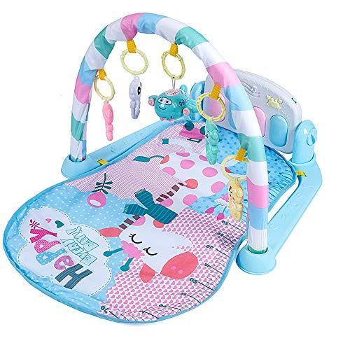 Byx Baby Fitness Rack Pedal Klavier Rassel Baby Spielzeug Unterhaltungsmusik Spiel Decke Spielzeug Einpolig Einfach Mit Geschichte Maschine Fernbedienung Wiederaufladbare Baby Piano Gym -