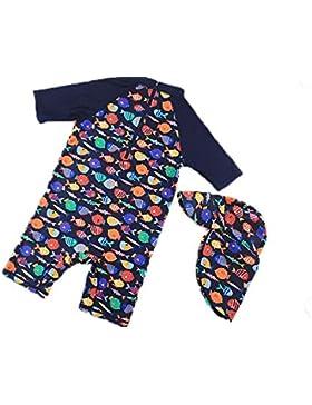Traje de baño para niños Traje de surf para niños Bloqueador solar Traje de secado rápido Traje de bebé Traje...