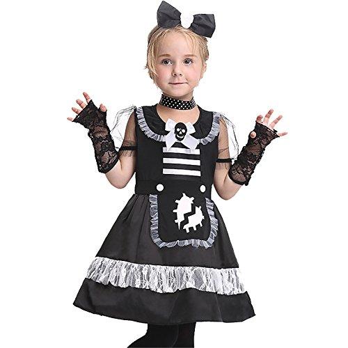 Dienstmädchen Cosplay Leistungskleidung Kleiderset Halloween-Kostüme (Spiderman Kostüm Seide)