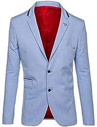 BOLF – Veston – Moderne – Blazer – Casual – Slim fit – Motif – Homme [4D4]