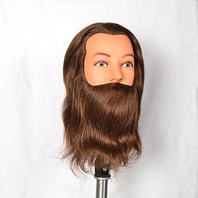 Cabeza maniqui hombre barba