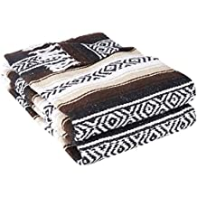 Yogadirect Deluxe mexican yoga Blanket, Uomo, Brown