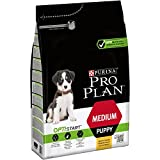 Purina - ProPlan Medium Puppy Start Pienso para Perro Cachorro Pollo - Pack de 4 x 3 Kg - Total 12 Kg