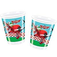 Unique Party Amscan Iternational Planes Plastic Cups