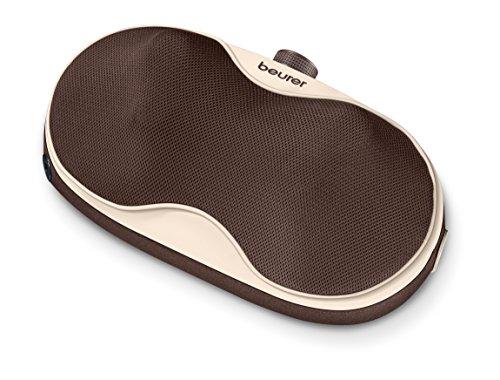 Beurer MG 520 To Go Shiatsu-Massagekissen braun-beige | Entspannungsmassage zur Erholung der Muskulatur und Regeneration