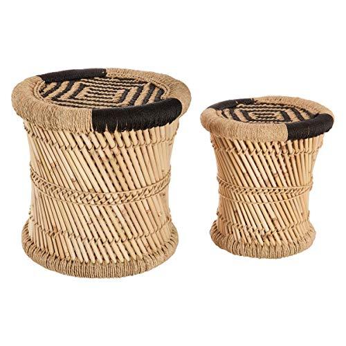 Satztische aus Bast und Bambus 2 Stk. - 41,08 €