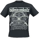 Böhse Onkelz Mexico 2014 T-Shirt schwarz XL