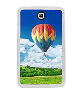 Hot Air Balloon 2D Hard Polycarbonate Designer Back Case Cover for Samsung Galaxy Tab 3 8.0 Wi-Fi T311/T315, Samsung Galaxy Tab 3 8.0 3G, Samsung Galaxy Tab 3 8.0 LTE