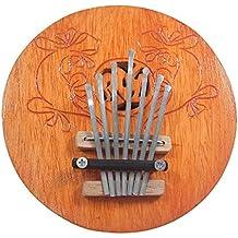 Pulgar hecho a mano Kalimba Piano Mibra un instrumento musical africano hecho por artesanos indios
