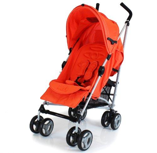 ZETA VOOOM - Orange + Orange Padded Liner