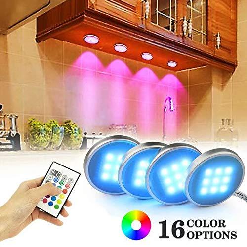 LED Küche Unter Kabinett Beleuchtung Multi Farbe veränderbar LED Akzentbeleuchtung für Schrank/Bücherregal/Schrank Dekoration LED Stimmungs Licht Mit Fernbedienung
