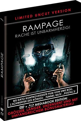 BR+DVD Rampage - Rache ist unbarmherzig- Limited Uncut Black Book Edition - limitiert auf 1000 Stk. -
