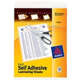 Best Avery Laminatings - Clear Self-Adhesive Laminating Sheets, 3 mil, 9 x Review