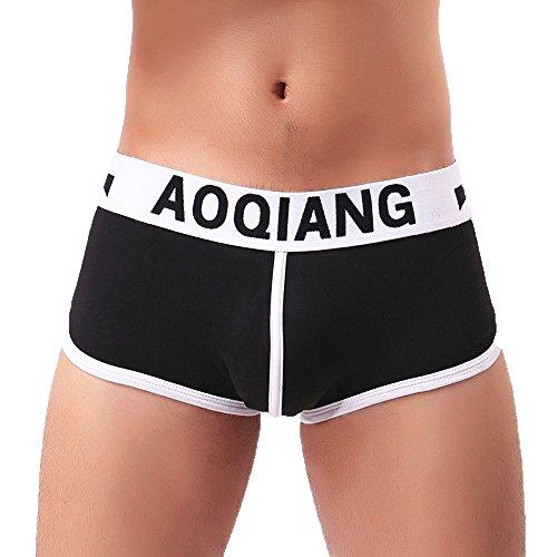 fbb9374b3447f Daysing Soldes Sous-VêTement Boxer Homme Sexy Shorts Boxeurs Slips  BriefsPénis Jouet Adulte Lingerie