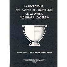 La necrópolis del Castillejo de la Orden de Alcántara