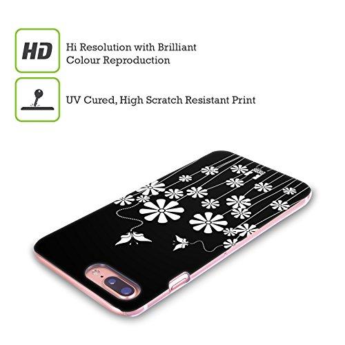 Head Case Designs Farfalla Fiori B&N Cover Retro Rigida per Apple iPhone X Farfalla