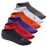 6 Paar CFLEX LIFESTYLE Invisible Sneaker Socks - Unisex Sneaker