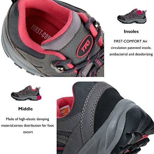 TFO, Chaussures basses pour Homme gris foncé