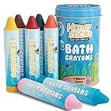 Honeysticks Beeswax - Crayones para Tina de baño para niños pequeños y niños, no tóxicos, Lavables y fáciles de Limpiar, diversión en Tiempo de baño Soluble en Agua