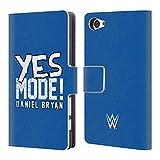 Head Case Designs Offizielle WWE Daniel Bryan Yes Mode 2018/19 Superstars 5 Brieftasche Handyhülle aus Leder für Sony Xperia Z5 Compact