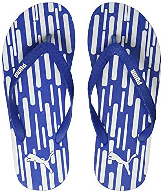 PUMA Unisex Adult Gear V4 IDP Royal Blue White Flip-Flops-4 UK (37 EU) (5 US) (37099904)
