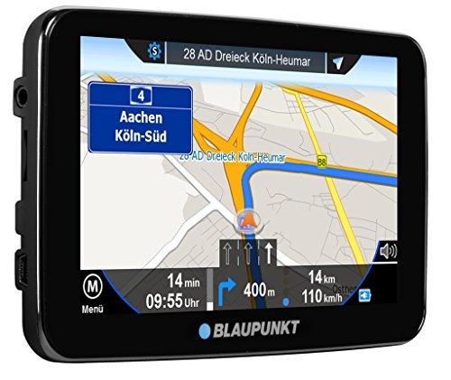 Blaupunkt TravelPilot 72 EU - Navigationssystem 17,5 cm (7 Zoll) Touchscreen-Farbdisplay, Kartenmaterial Gesamteuropa, mit Bluetooth Freisprecheinrichtung, schwarz (Die Garmin-software-update)