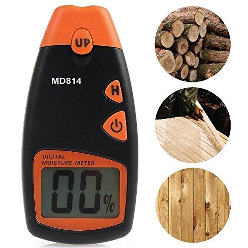 IInovey Md814 Digital Holzfeuchte Portable Meter 4 Ersatz-Sensor-Pins Mit Hd-Digital-Lcd-Display-Test-Tool