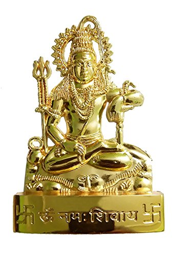 IndianStore4All Lord Shiva Metall ldol Statue 6,3cm Zoll ca.